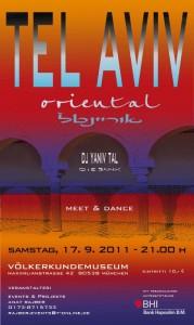 Einladung Tel Aviv Oriental