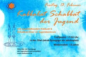 Kabbalat Schabbat der Jugend