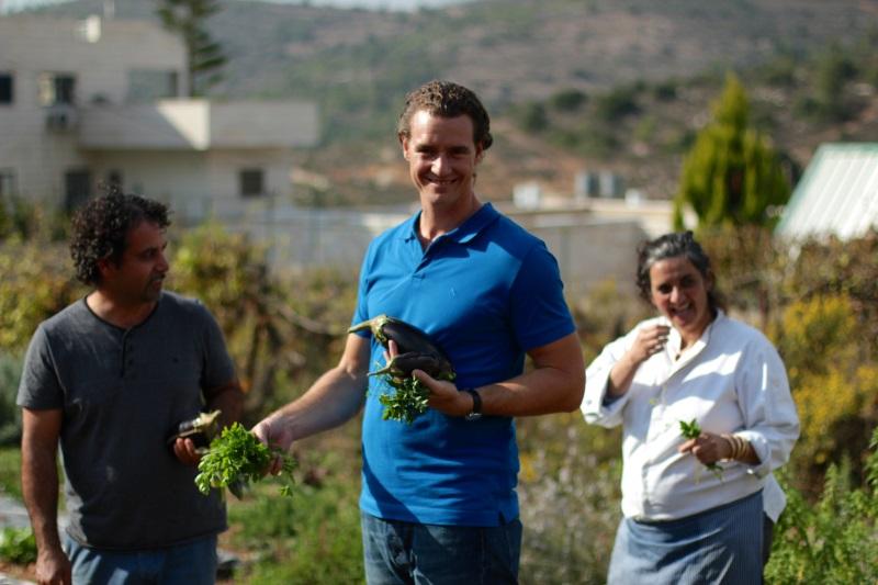 Tom Franz auf kulinarischer Entdeckungsreise quer durch Israel© megaherz gmbh