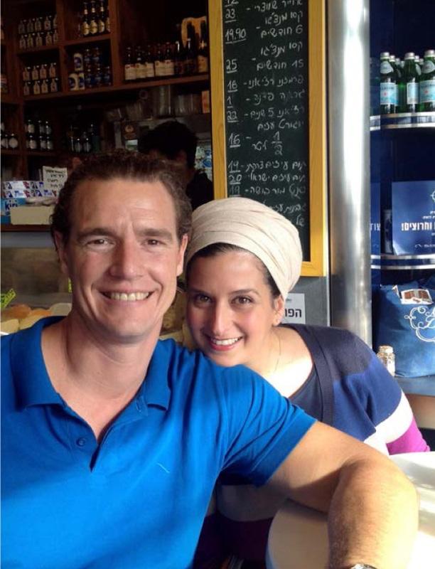Tom Franz und seine Frau Dana © megaherz gmh