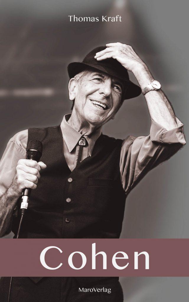 8a Buchcover Thomas Kraft über Leonard Cohen 9783875123173