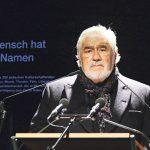 Für ihn war die Teilnahme an der Gedenkstunde eine Herzensangelegenheit: Mario Adorf © Marina Maisel