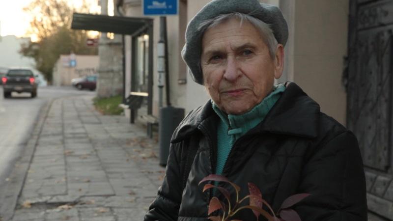 Fanja Brancowskaja in Vilnius / Litauen © Kassiber Films