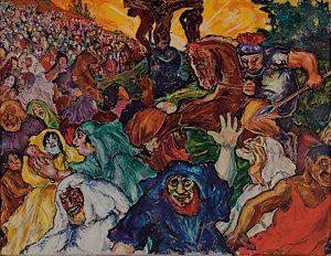 """""""Golgatha"""" (1915) von Fritz Ascher"""