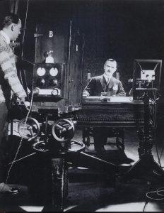6a Thomas Mann im Aufnahmestudio_.22.01.1929,Berlin