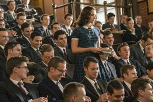Paula Bader Ginsburg (Felicity Jones) als Jura-Studentin in Harvard © Entertainment One Germany -TCF