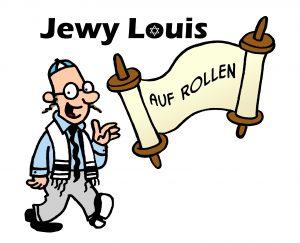 Jewy Louis auf Rollen © Ben Gershon
