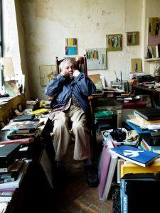 Saul Leiter in seinem Atelier © Margit Erb, Saul Leiter Foundation