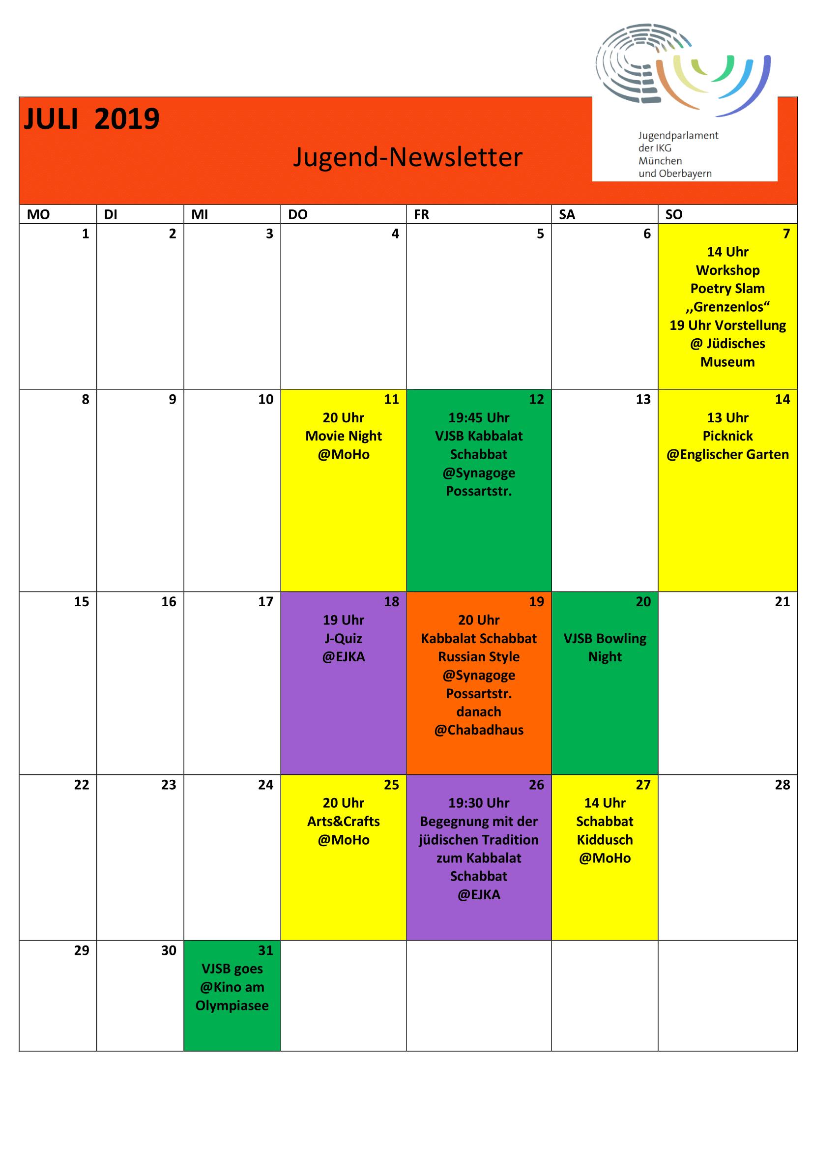 Kalender Jugendparlament Juli neu 2019 -1