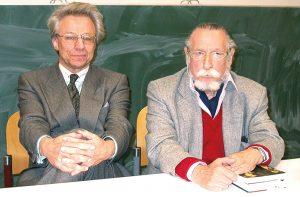 Georg Stefan Troller und Wolfgang Langenbucher (c) privat