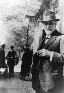 Sigmund Freud 1920 in Den Haag © Sigmund Freud Privatstiftung
