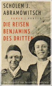 BUCHCOVER Reisen Benjamin (c) Hanser